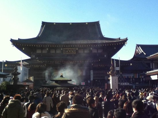 Main Hall on New Year's Day 2013