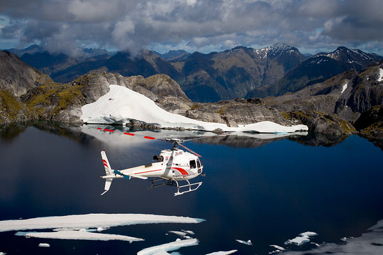 Fiordland Lodge : Scenic flights