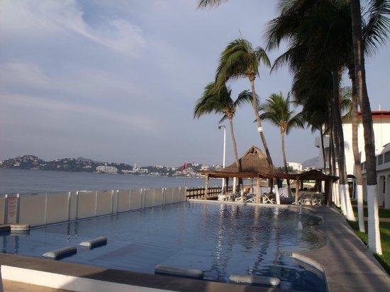 Hotel Marbella : View towards the Patio