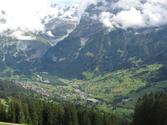 Bussalp: View of Grindelwald