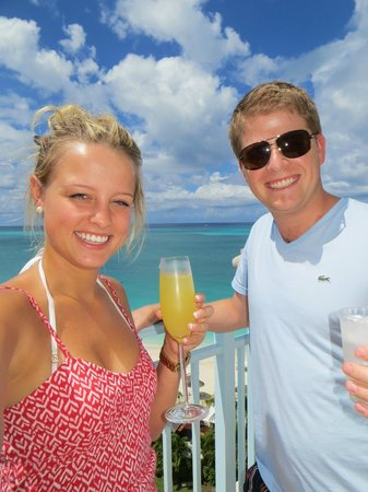 Seven Stars Resort & Spa: Jordynn and I on balcony - Mimosa in hand!