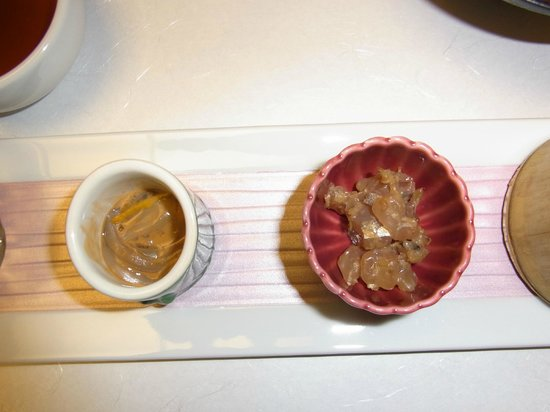 Shosenkaku Kagetsu: 前菜(一部)