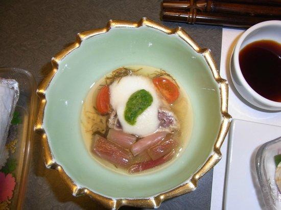 Shosenkaku Kagetsu: 酢の物