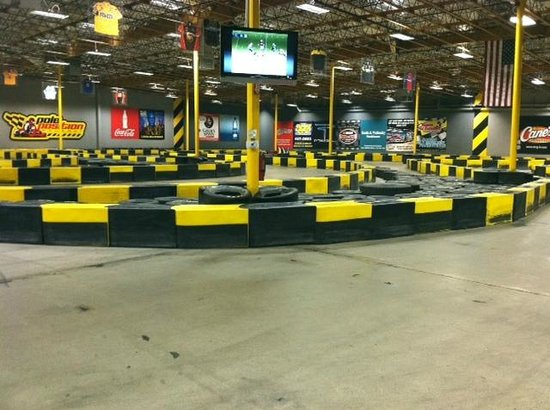 Pole Position Raceway - Indoor Karting: Track View