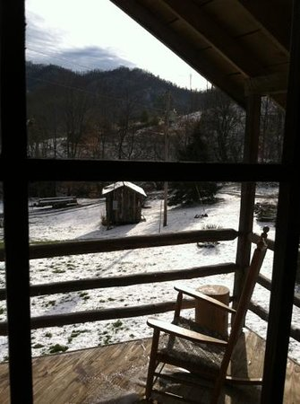 Three Bear Holler Cabin Rentals: view