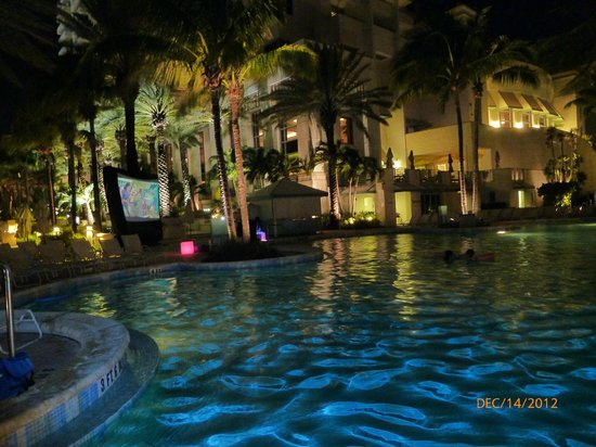 Loews Miami Beach Hotel: Drive In Outdoor Movie