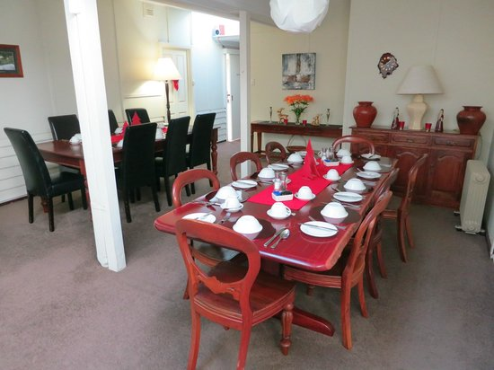 Margaret River Guest House: Breakfast Room