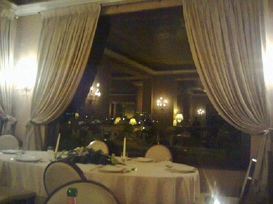 Grand Hotel Baglioni Firenze: panoramica dal ristorante