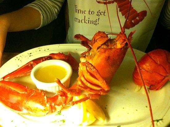 S.S. Milton: steamed lobster dinner