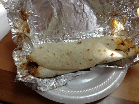 Taqueria Chihuaua: what a burrito!!!!
