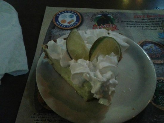 Smoky Mountain Brewery & Restaurant: Key Lime Pie