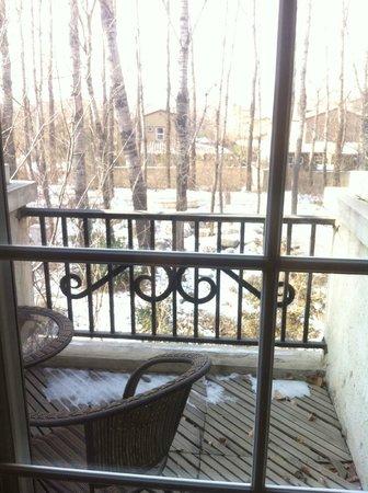 Napa Club Hotel: balcony