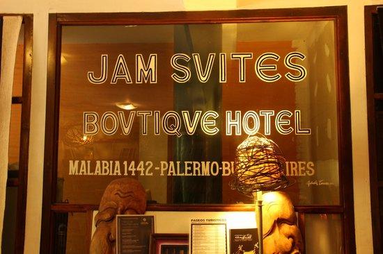 Jam Suites Boutique Hotel: Hotel lobby