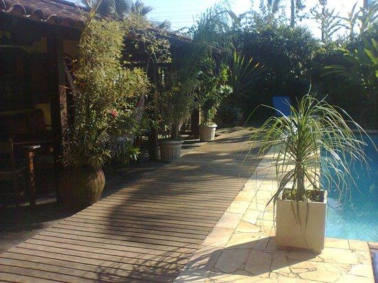 Pousada Missanga : Beira da piscina,