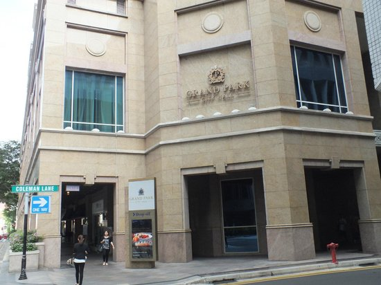 Grand Park City Hall: Hotel