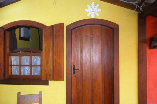 Pousada Missanga: Esse foi o quarto em que fiquei hospedada.