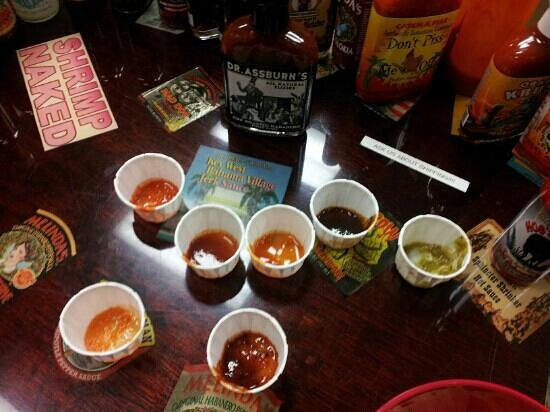 Peppers of Key West : some of our samplers