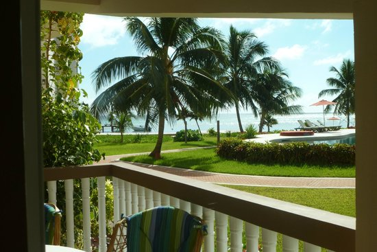 Grand Caribe Belize Resort and Condominiums: View from B1