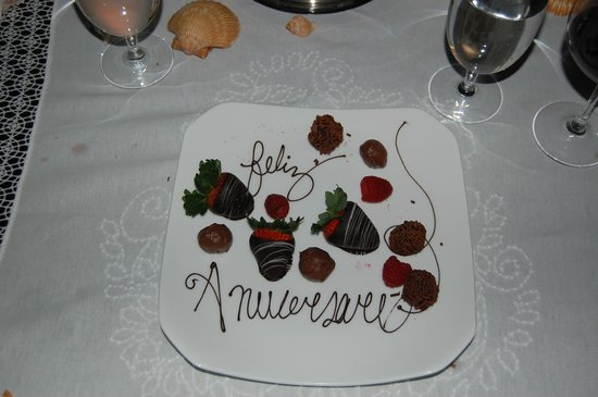 Four Seasons Resort Punta Mita: Anniversary wishes from staff