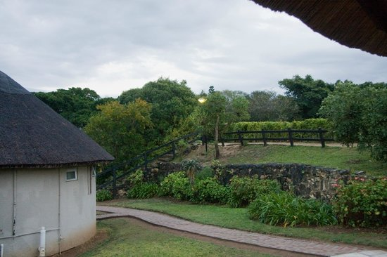 Addo Rest Camp : Behind Rondavels