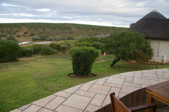 Addo Rest Camp: View from Rondavel #3