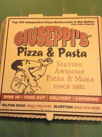 Giuseppi's Pizza & Pasta : box
