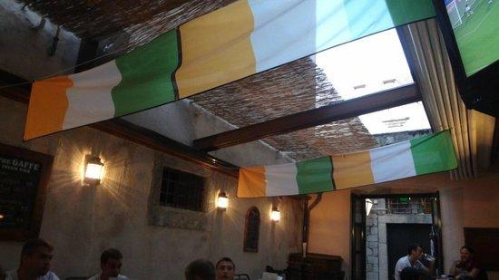 The Gaffe Pub: Outdoor Courtyard