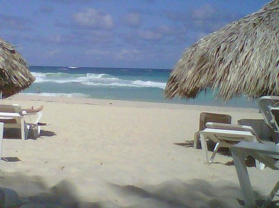 Hard Rock Hotel & Casino Punta Cana: Absolutely loved the beach. Watch out for the waves though.