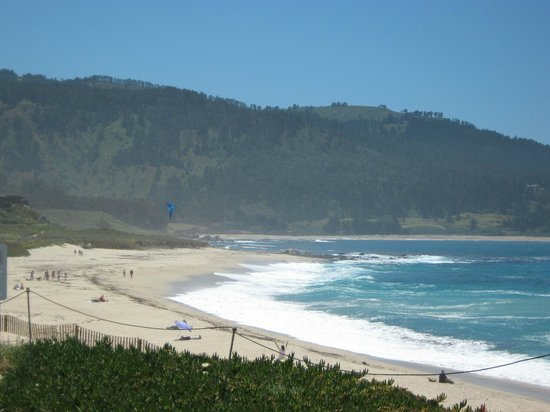 Horizon Inn & Ocean View Lodge: View of the west side of the Beach in Carmel