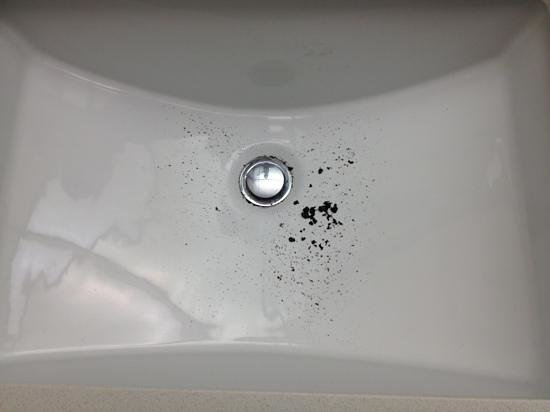 Renaissance Los Angeles Airport Hotel: bathroom sink on check in