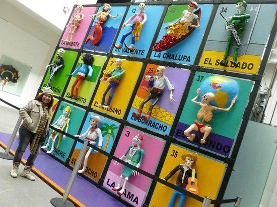Museo de Arte Popular: Patio principal...