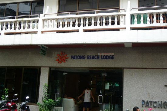 Inn Patong Beach Hotel Phuket : Enterance to hotel