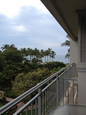 Fairmont Orchid, Hawaii: view from standard room balcony