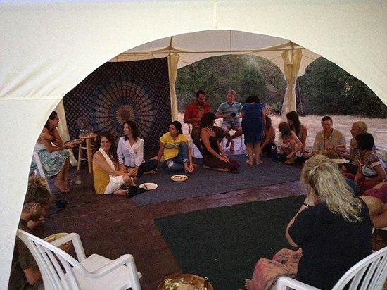 Pleasant Valley Sanctuary: gathering