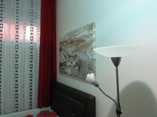 Yakamoz Guesthouse: Картинки на стенах