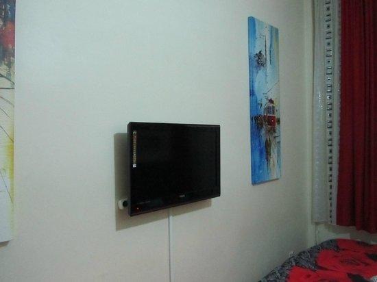 Yakamoz Guesthouse: Телевизор