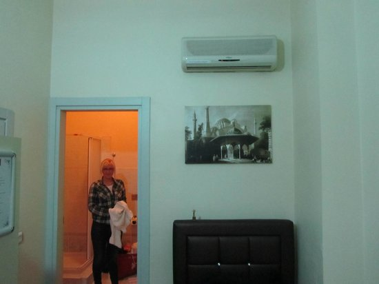 Yakamoz Guesthouse: Вид на ванную