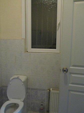Yakamoz Guesthouse: Окно в туалете (за окном живут голуби)