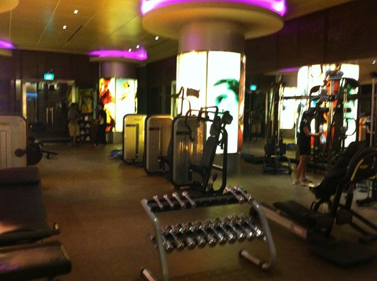 Pan Pacific Singapore: Gym