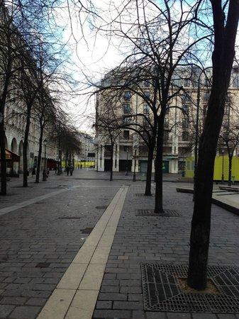 Citadines Les Halles Paris: Vista Hotel