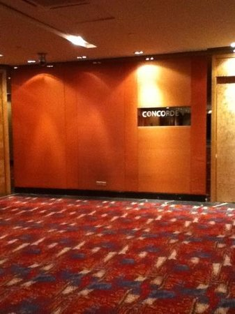 Concorde Hotel Kuala Lumpur: Entrada al comedor auxiliar