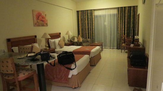 Savoy Park Hotel Apartments: Single room with two twin beds