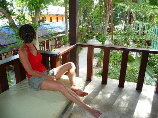 Wind Beach Resort: terrasse chambre luxe 1er étage