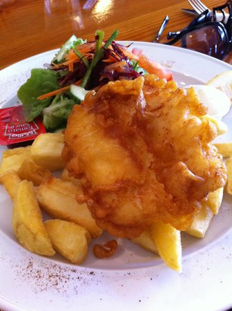 Barn Cafe: Fish & Chips