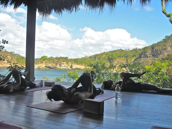 Aqua Wellness Resort: Yoga class!