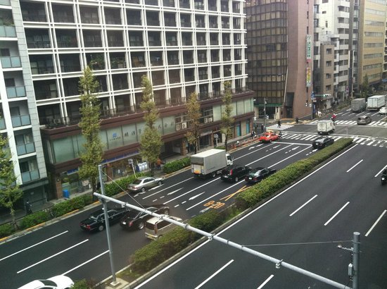 Hotel MyStays Hamamatsucho: what we can see from the window