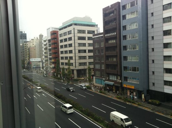 Hotel MyStays Hamamatsucho: What we can see from the hotel window