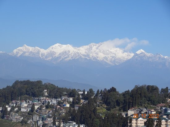 Golden Heights Enclave: kanchenjunga view from hotel