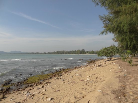 Rocky Point Resort: Beach area