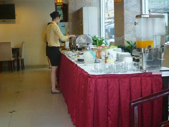 Phuoc Loc Tho 2 Hotel: 朝のモーニング
